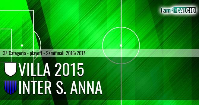 Villa 2015 - Inter S. Anna