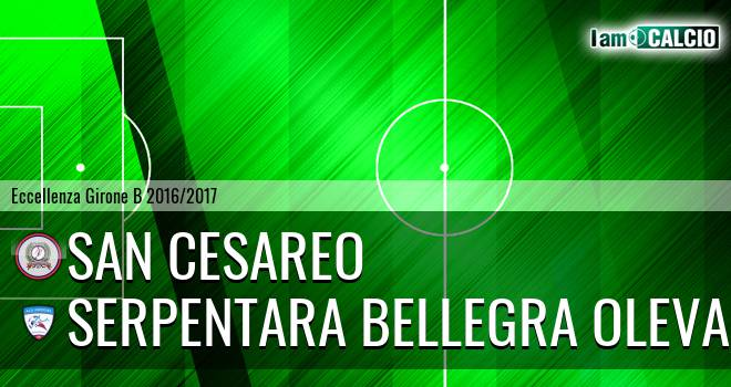 San Cesareo - Serpentara Bellegra Olevano
