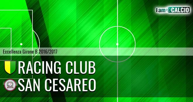 Racing Club - San Cesareo