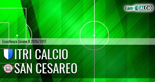 Itri Calcio - San Cesareo