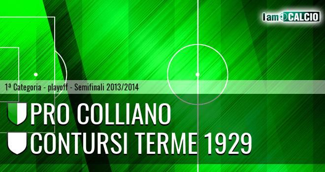 Pro Colliano - Contursi Terme 1929