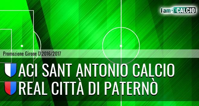 Aci Sant Antonio Calcio - Real Città di Paternò