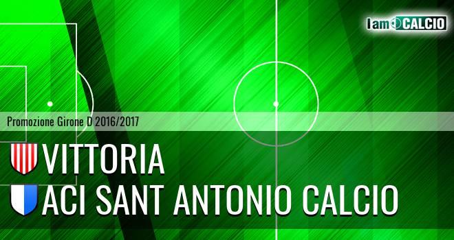 Vittoria - Aci Sant Antonio Calcio
