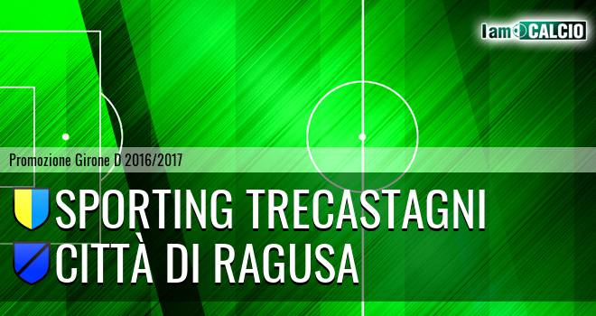 Sporting Trecastagni - Città di Ragusa