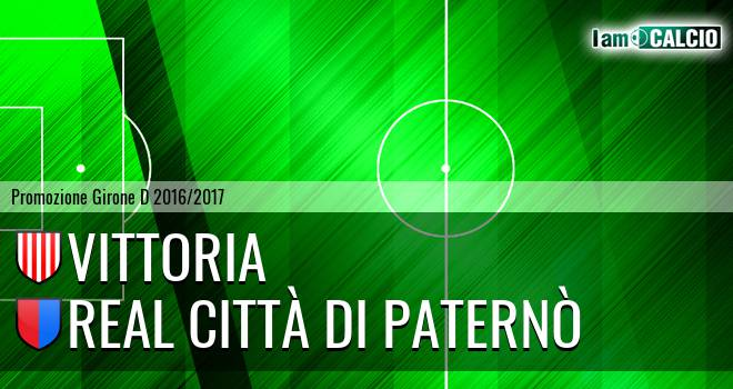 Vittoria - Real Città di Paternò