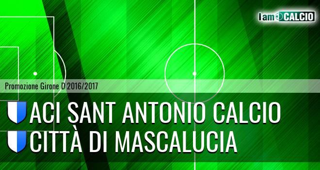 Aci Sant Antonio Calcio - Città di Mascalucia