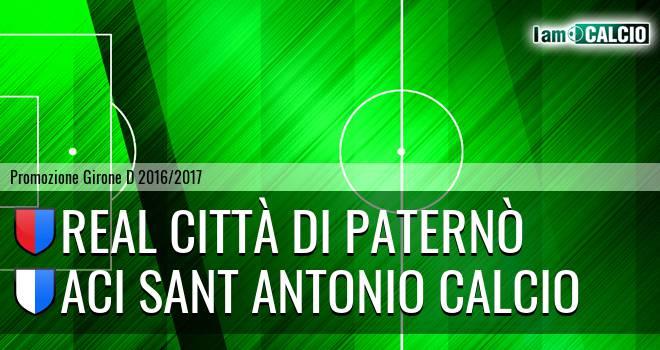 Real Città di Paternò - Aci Sant Antonio Calcio