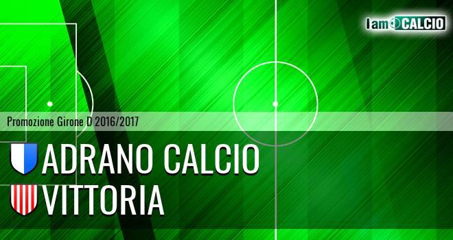 Adrano Calcio - Vittoria
