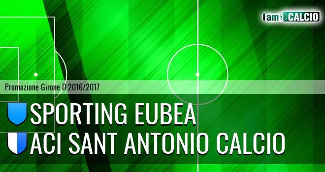 Sporting Eubea - Aci Sant Antonio Calcio
