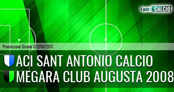 Aci Sant Antonio Calcio - Megara Club Augusta 2008