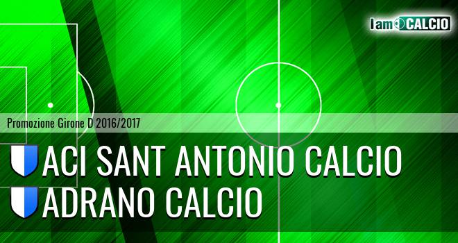 Aci Sant Antonio Calcio - Adrano Calcio
