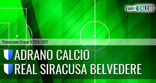 Adrano Calcio - Real Siracusa Belvedere