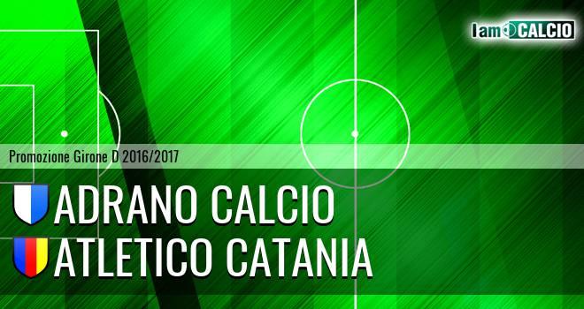 Adrano Calcio - Atletico Catania