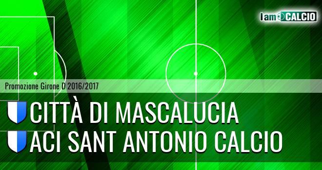 Città di Mascalucia - Aci Sant Antonio Calcio