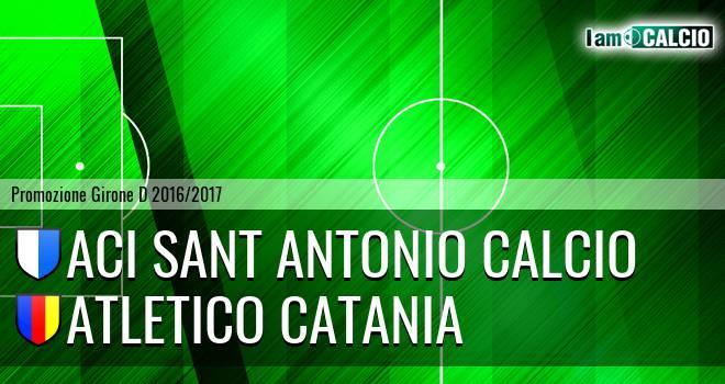 Aci Sant Antonio Calcio - Atletico Catania