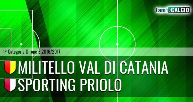Militello Val di Catania - Climiti FC San Paolo Priolo