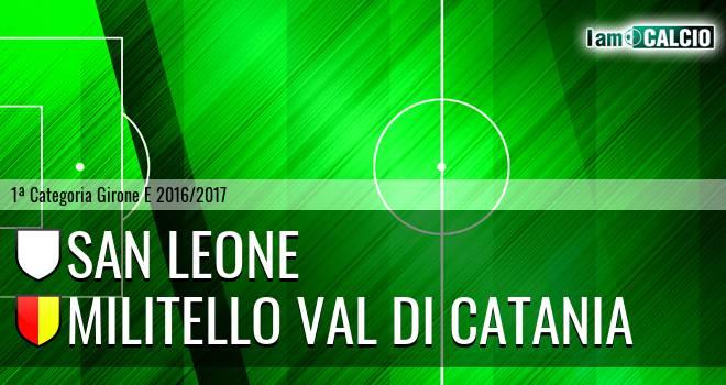 San Leone - Militello Val di Catania