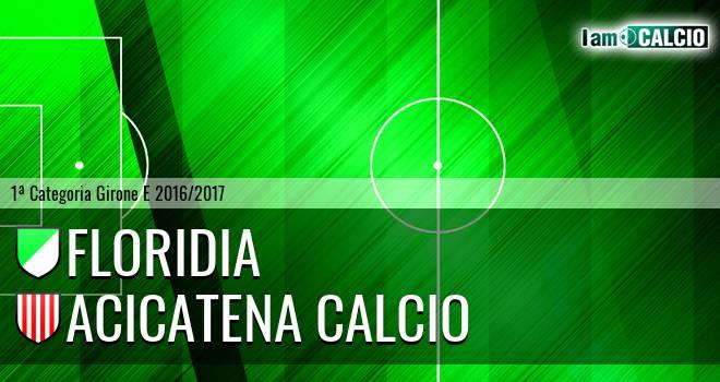 Floridia Calcio - Acicatena Calcio