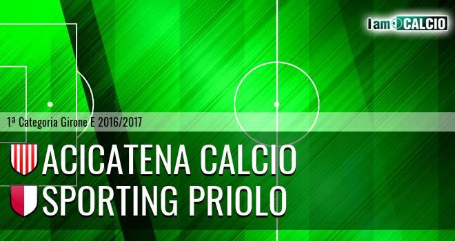 Acicatena Calcio - Climiti FC San Paolo Priolo