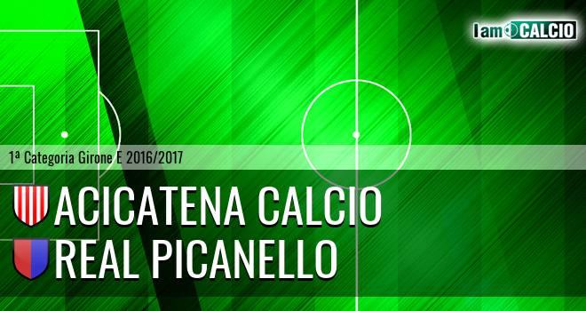 Acicatena Calcio - Real Picanello