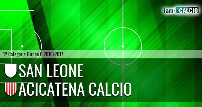 San Leone - Acicatena Calcio