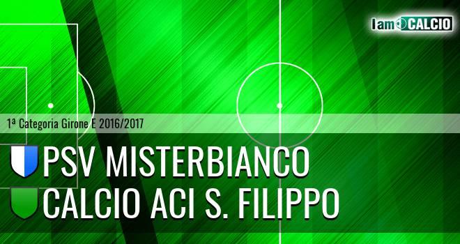 Città di Misterbianco - Calcio Aci S. Filippo