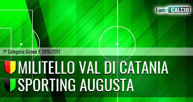Militello Val di Catania - Sporting Augusta