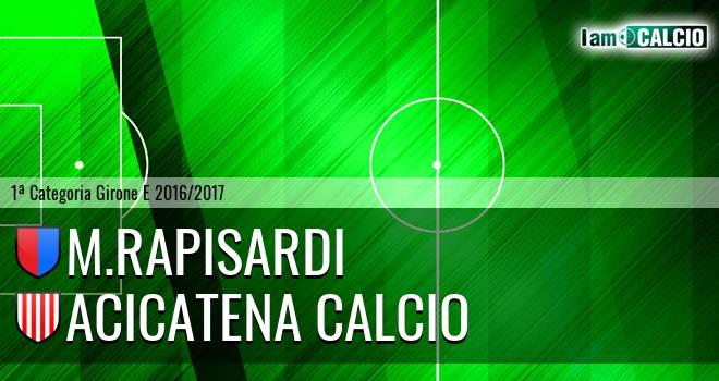 M.Rapisardi - Acicatena Calcio