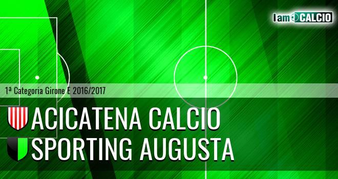 Acicatena Calcio - Sporting Augusta