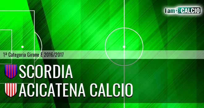 Scordia - Acicatena Calcio