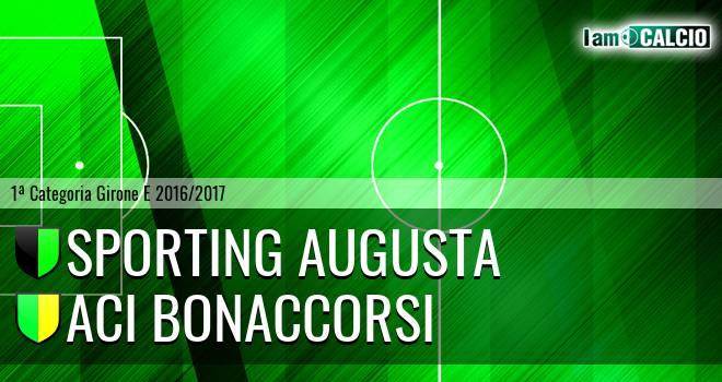 Sporting Augusta - Aci Bonaccorsi