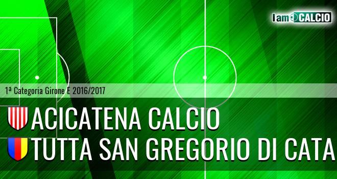 Acicatena Calcio - Tutta San Gregorio di Catania