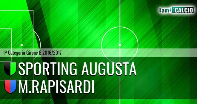 Sporting Augusta - M.Rapisardi
