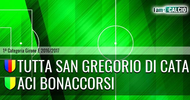 Tutta San Gregorio di Catania - Aci Bonaccorsi