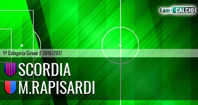 Scordia - M.Rapisardi