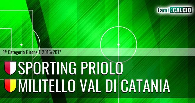 Climiti FC San Paolo Priolo - Militello Val di Catania