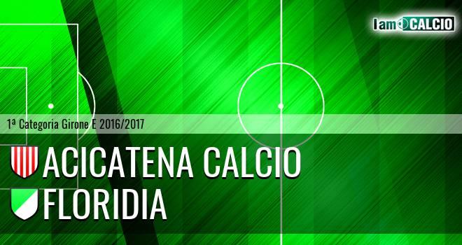 Acicatena Calcio - Floridia Calcio