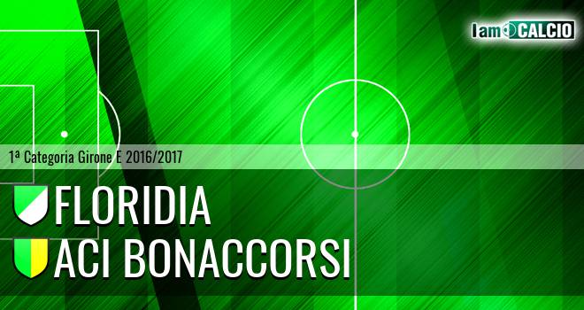 Floridia Calcio - Aci Bonaccorsi
