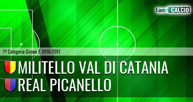 Militello Val di Catania - Real Picanello