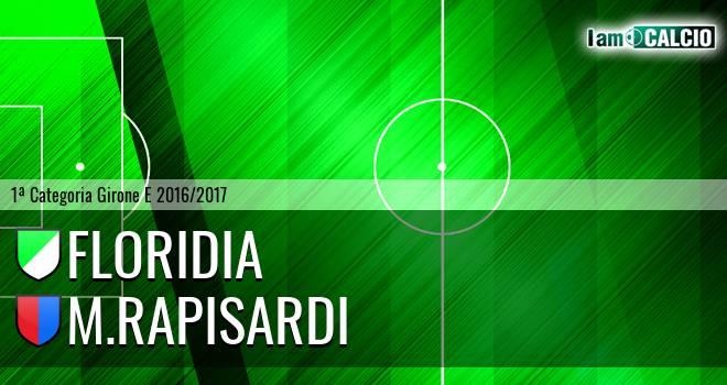 Floridia Calcio - M.Rapisardi
