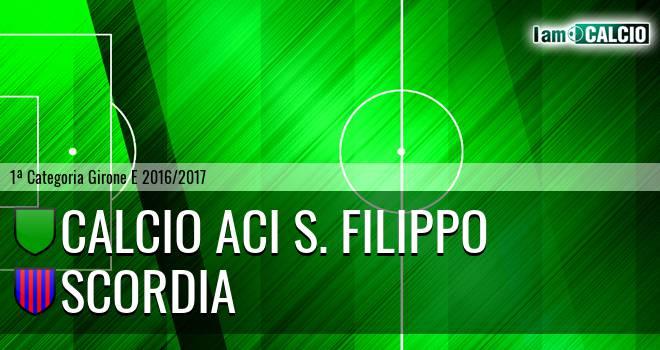 Calcio Aci S. Filippo - Scordia