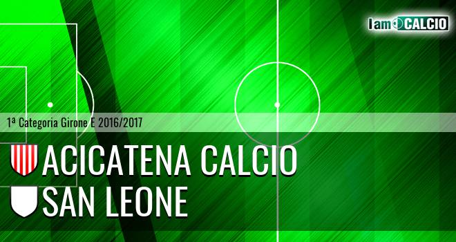 Acicatena Calcio - San Leone