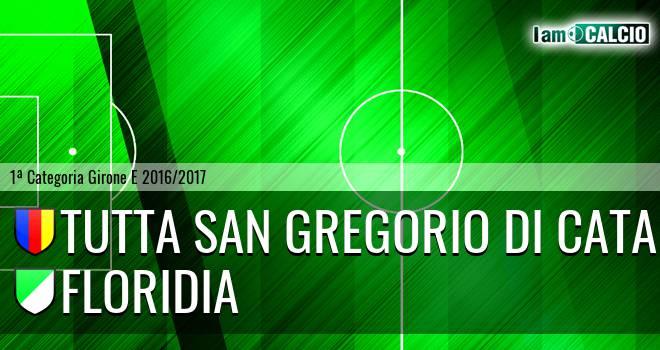 Tutta San Gregorio di Catania - Floridia Calcio