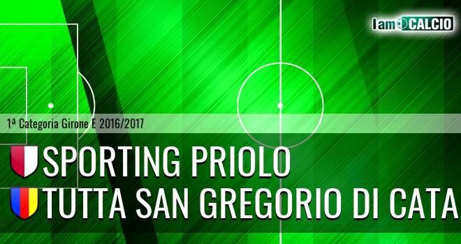 Climiti FC San Paolo Priolo - Tutta San Gregorio di Catania