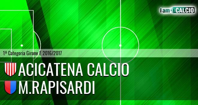 Acicatena Calcio - M.Rapisardi