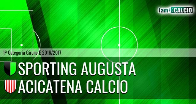 Sporting Augusta - Acicatena Calcio
