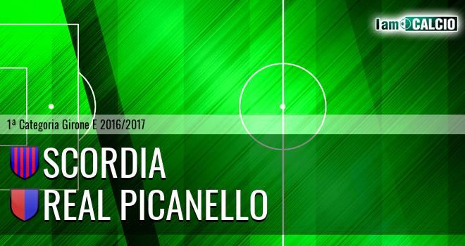 Scordia - Real Picanello