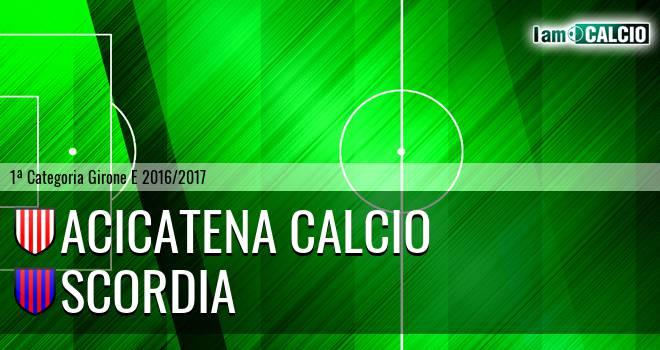 Acicatena Calcio - Scordia