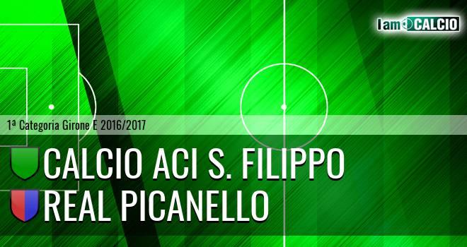 Calcio Aci S. Filippo - Real Picanello