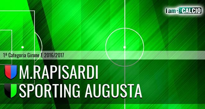 M.Rapisardi - Sporting Augusta